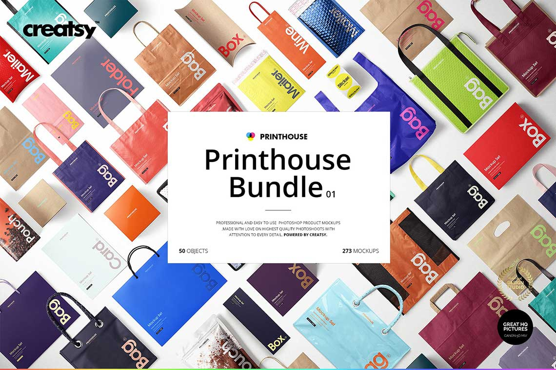 Exclusive Printhouse Mockups Bundle