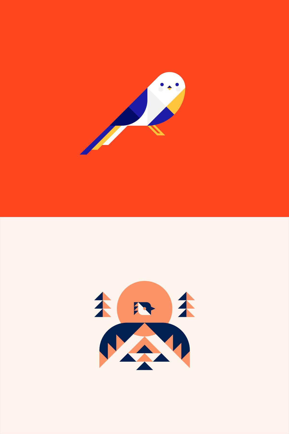 Forest Birds by Trevor Basset