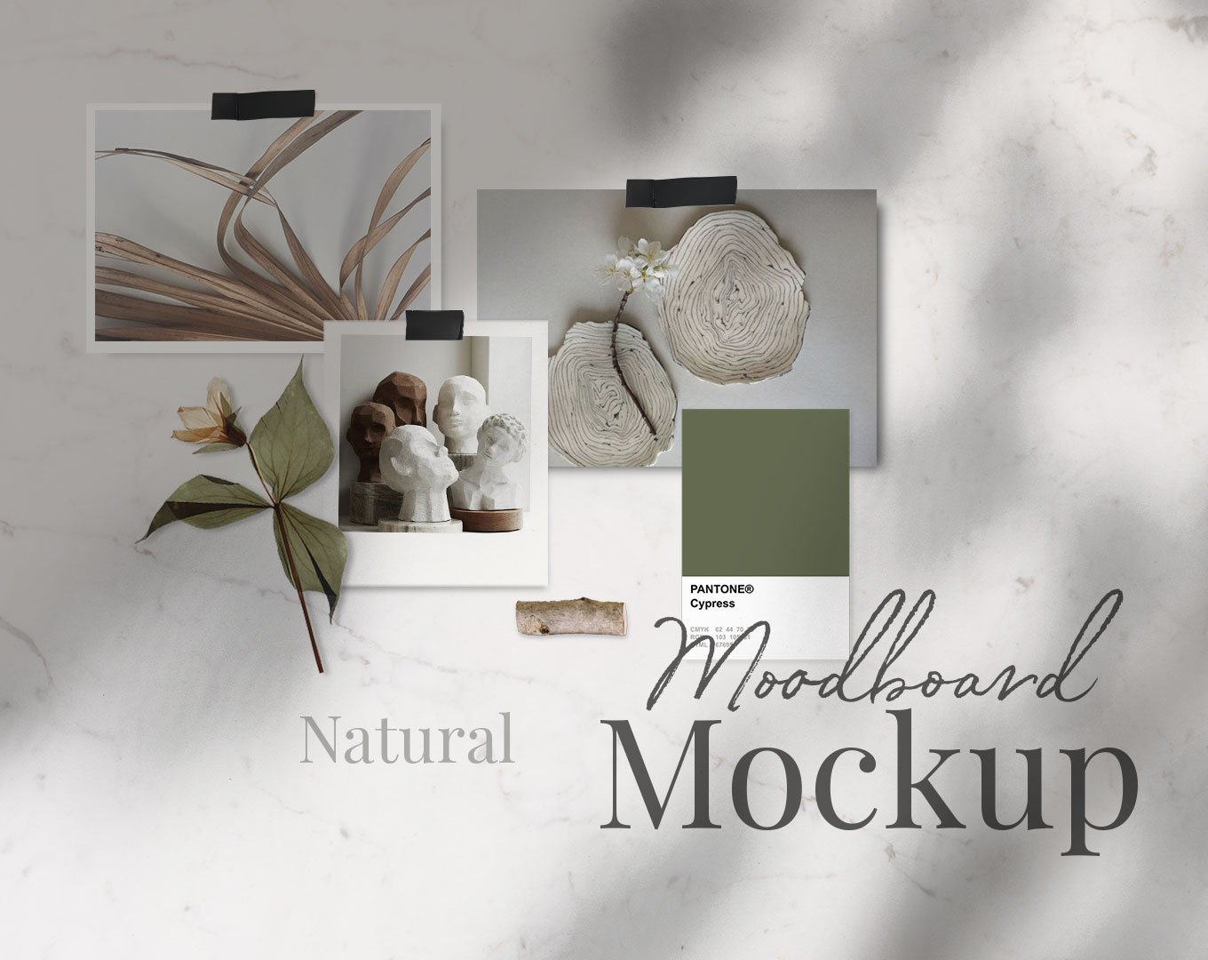 Natural Moodboard Template