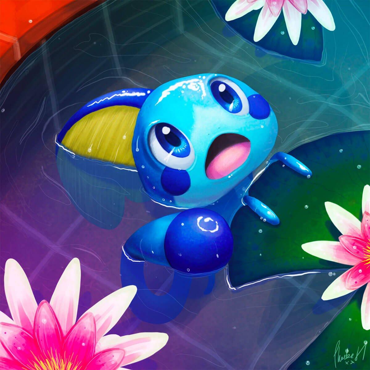 Pokemon Art by Phoebe