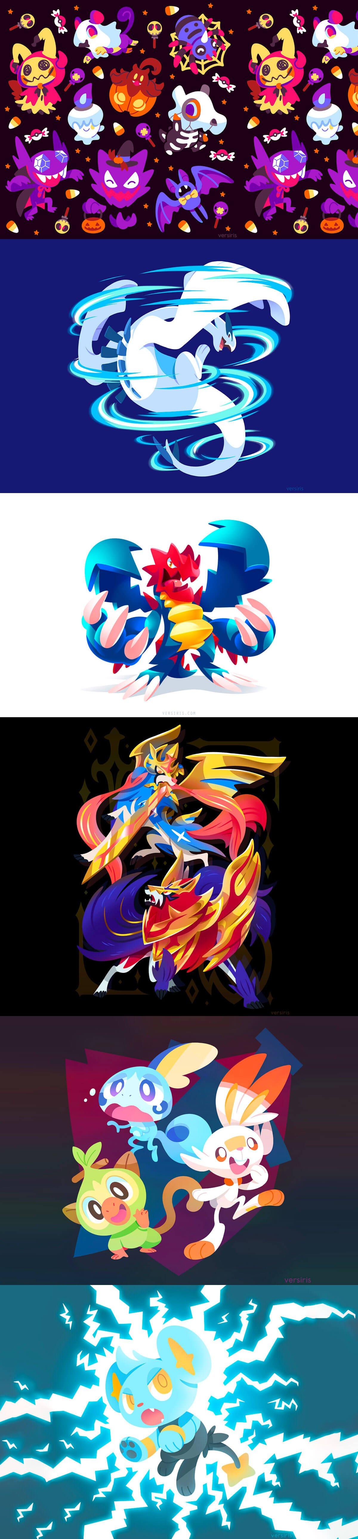 Pokemon Fan Art by Tanya Kozak