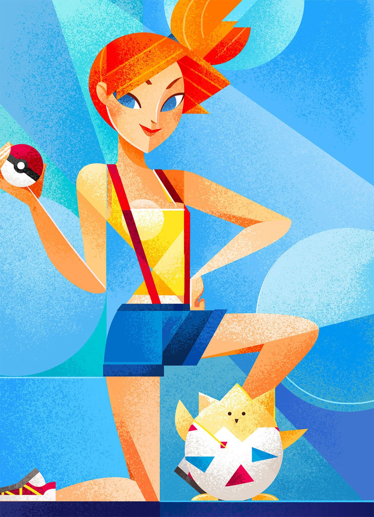 Pokemon Fanart by Christine Alcouffe