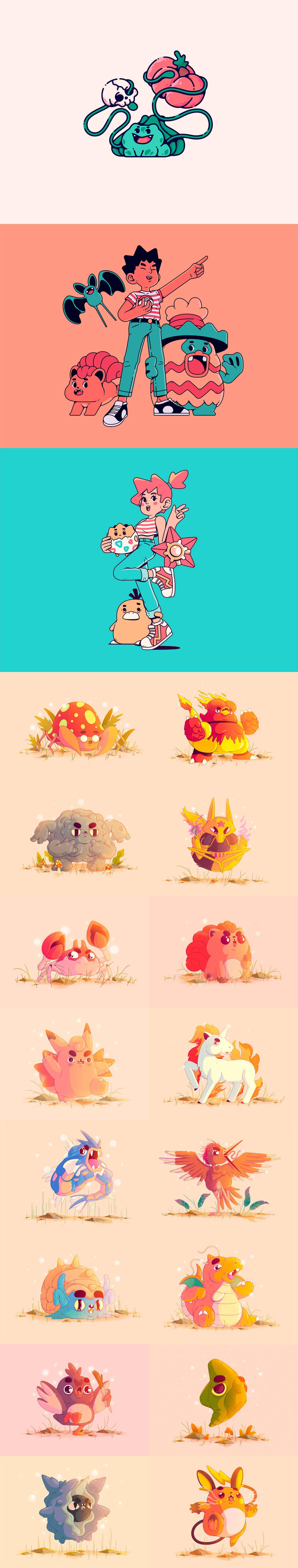Pokemon Fanart by Daniel Mackey
