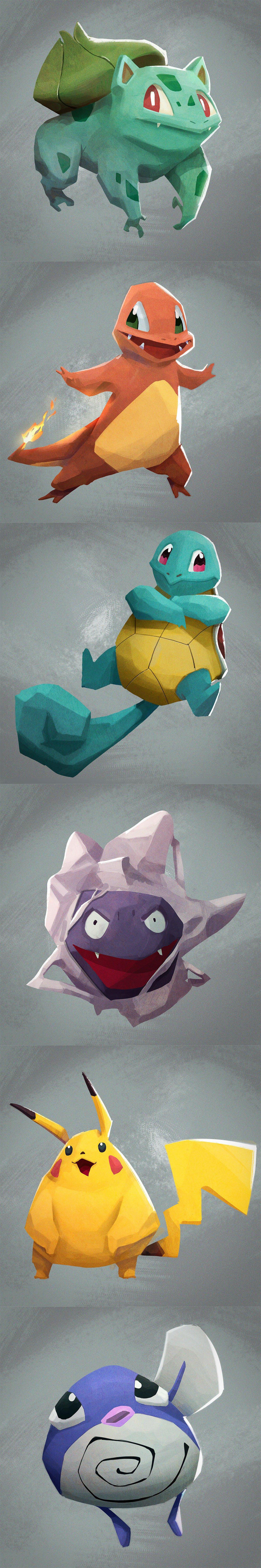 Pokemon by Maxime Templé