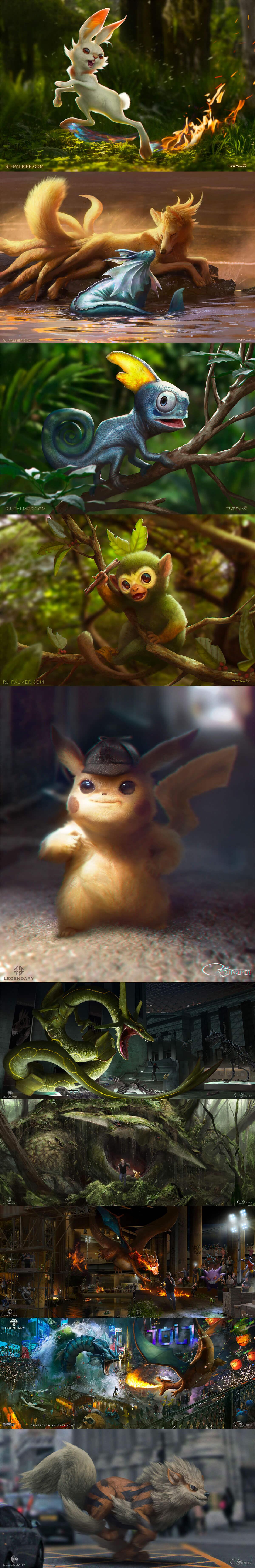 Pokemon by RJ Palmer