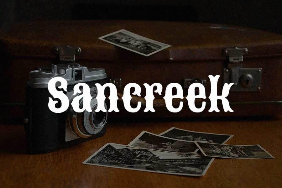 Sancreek Vintage Font