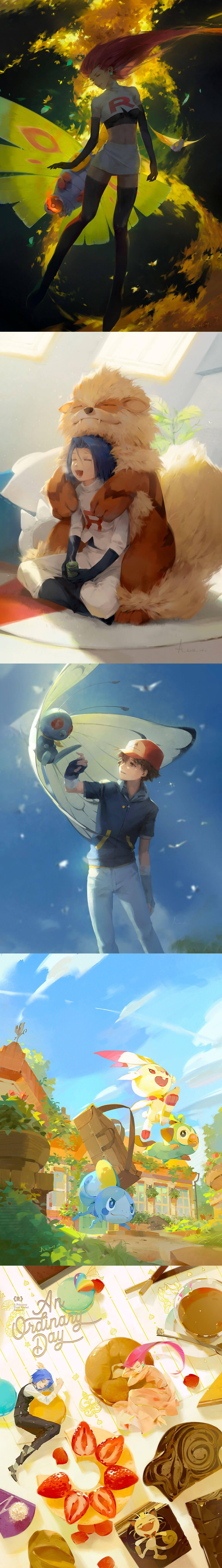 Pokemon Fan Art by Asen Liy