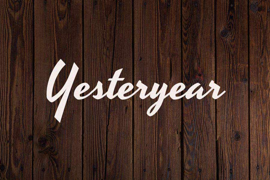 Yesteryear Free Rustic Font