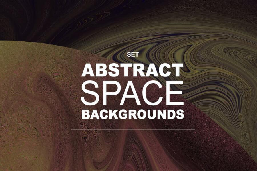 18 Abstract Space Backgrounds