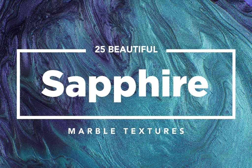 25 Modern Sapphire Marble Textures