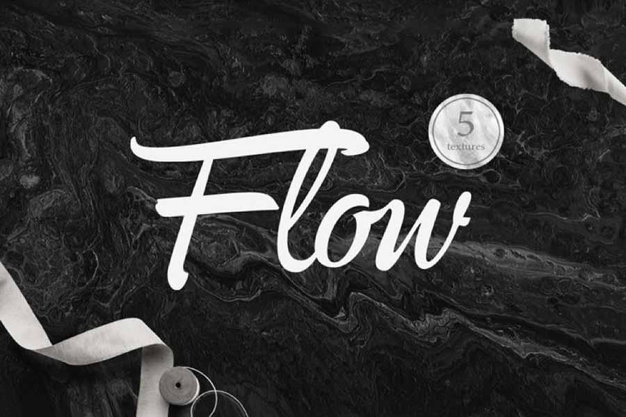 5 Free Flow Acrylic Backgrounds