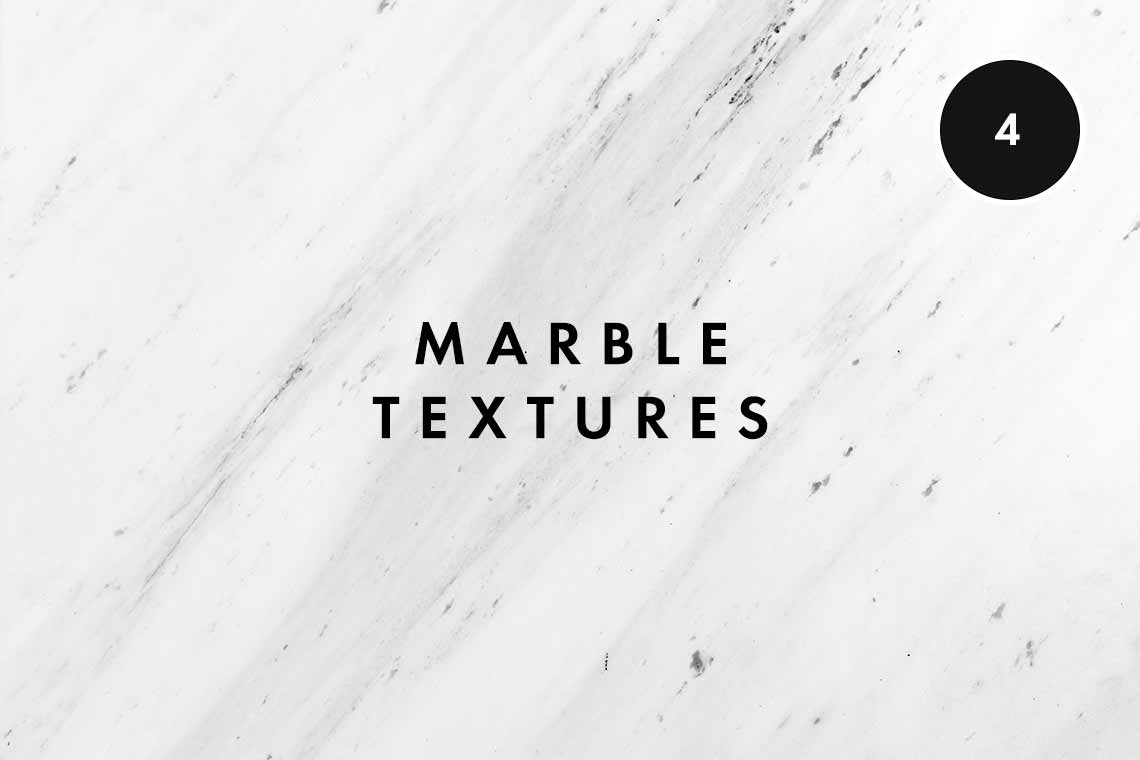 6 White Marble Texture Images