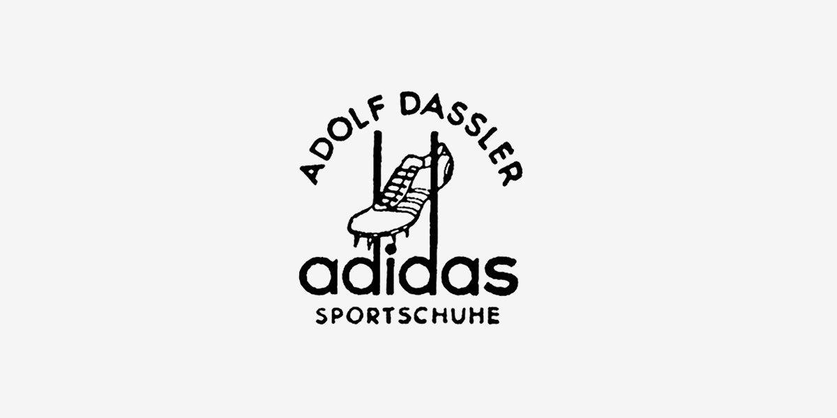 ballena Dependencia Permanece  History of Adidas Logo in a Nutshell - The Designest