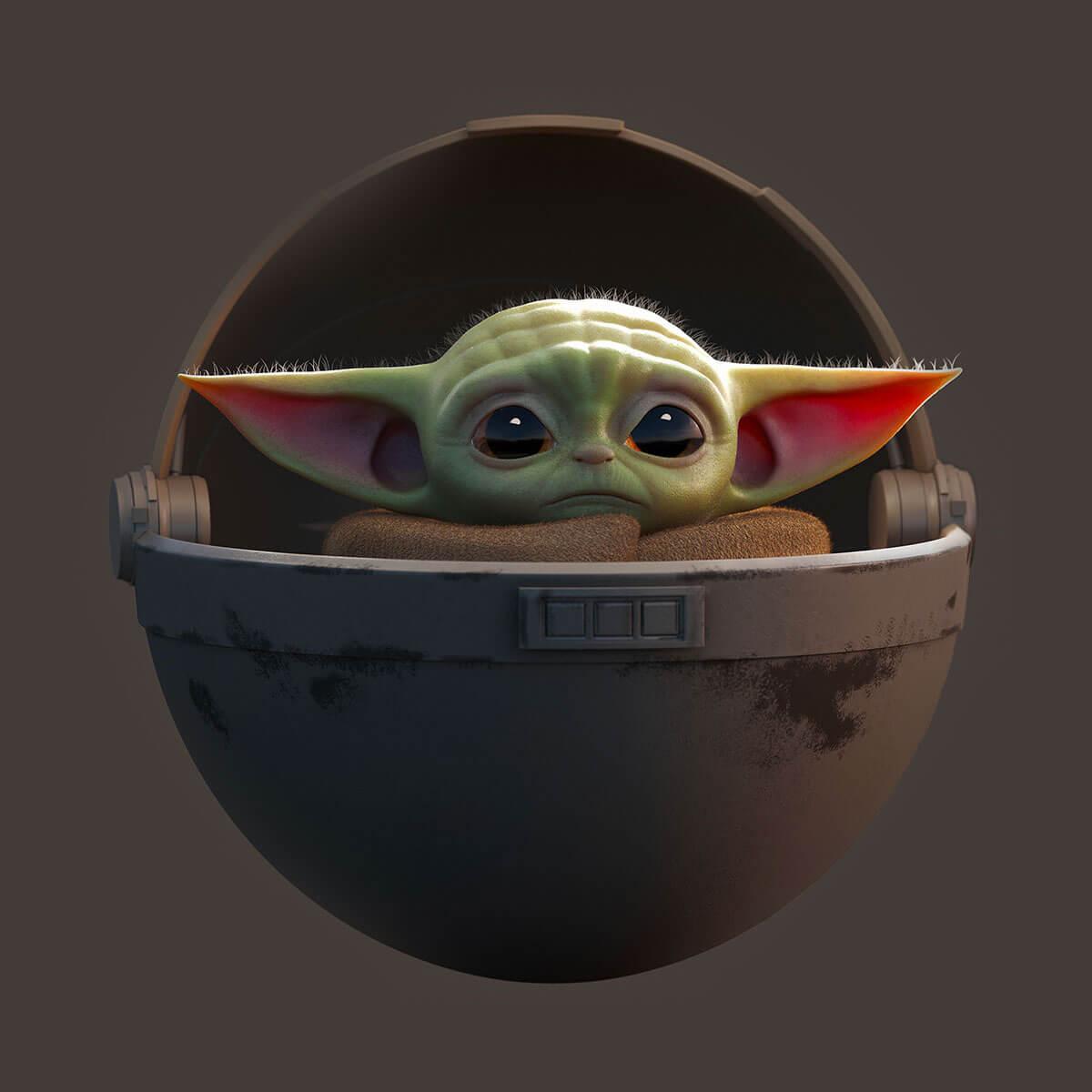 Baby Yoda by Guzz Soares