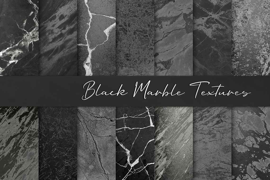 Black Marble Background Collection