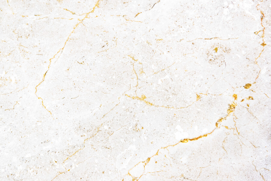 Closeup of a White Marble Textured Wall