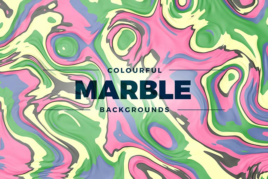 Colorful Marble Backgrounds