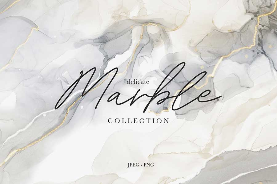 Delicate Marble Collection