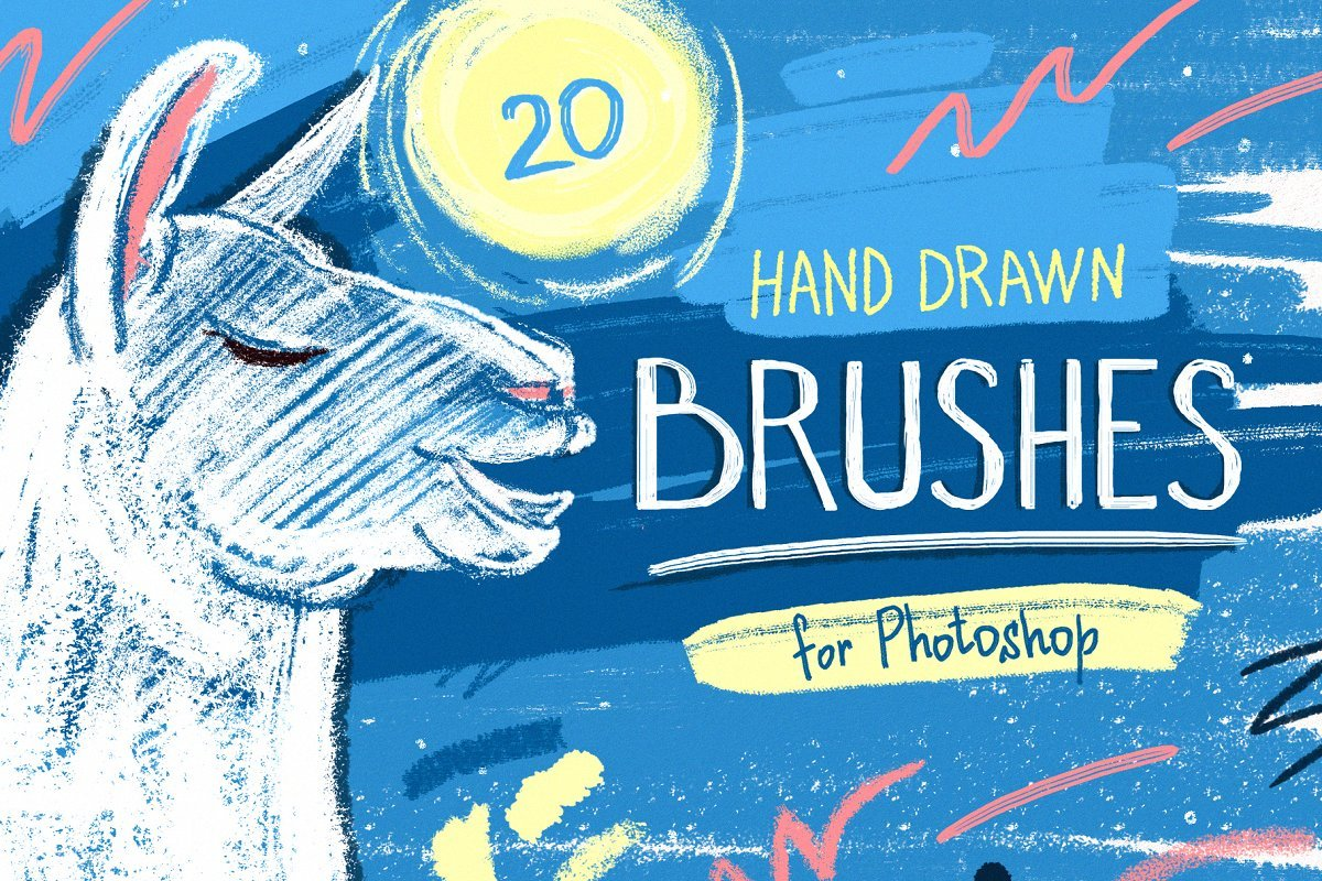 Essential Hand-Drawn Brushes