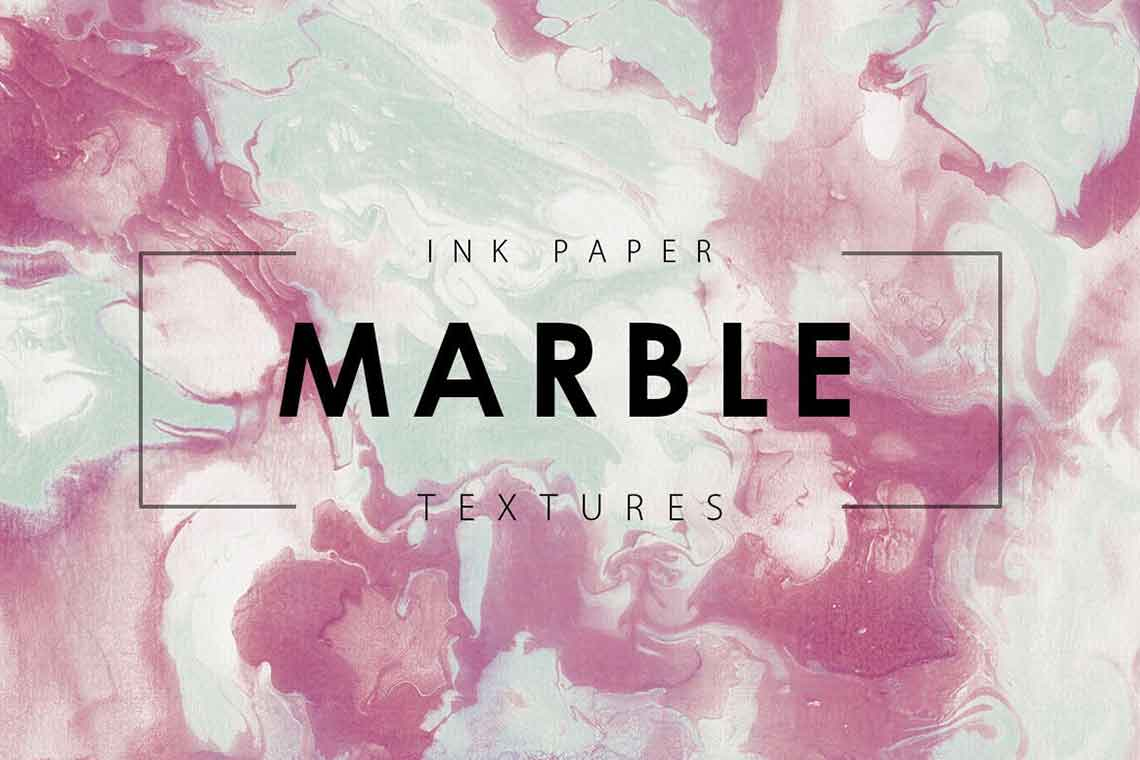 Marble Ink Texture Images