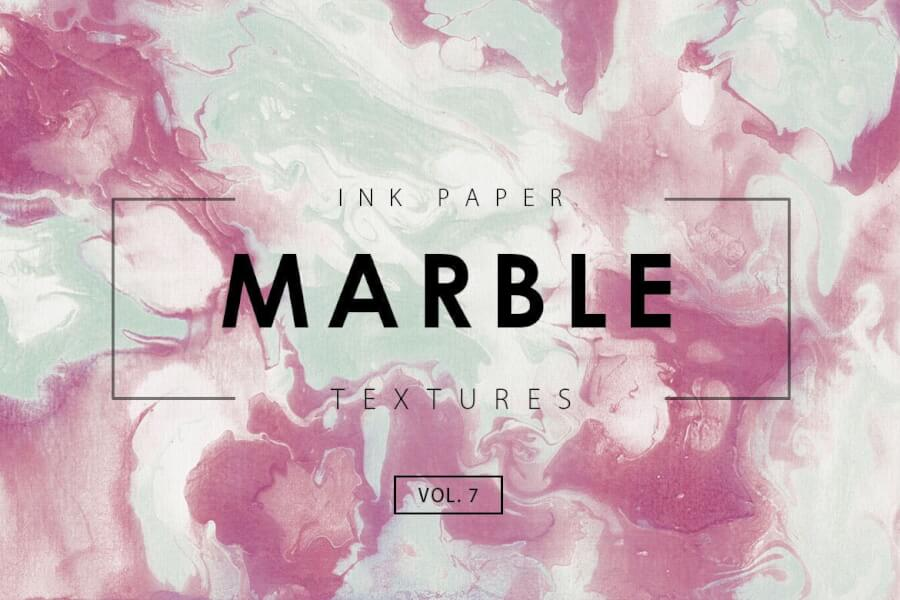Marble Ink Textures