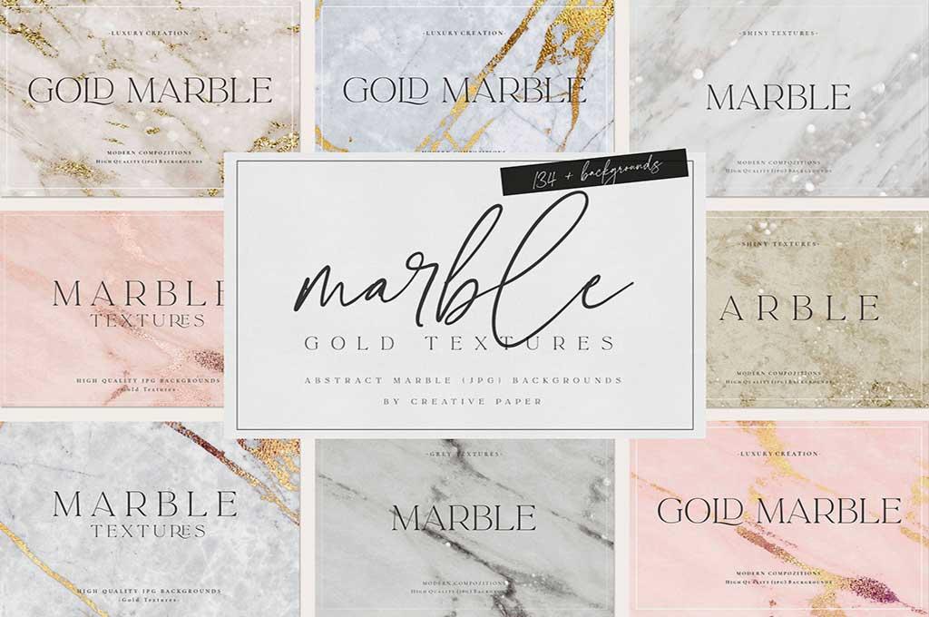 Marble Textures I Bundle