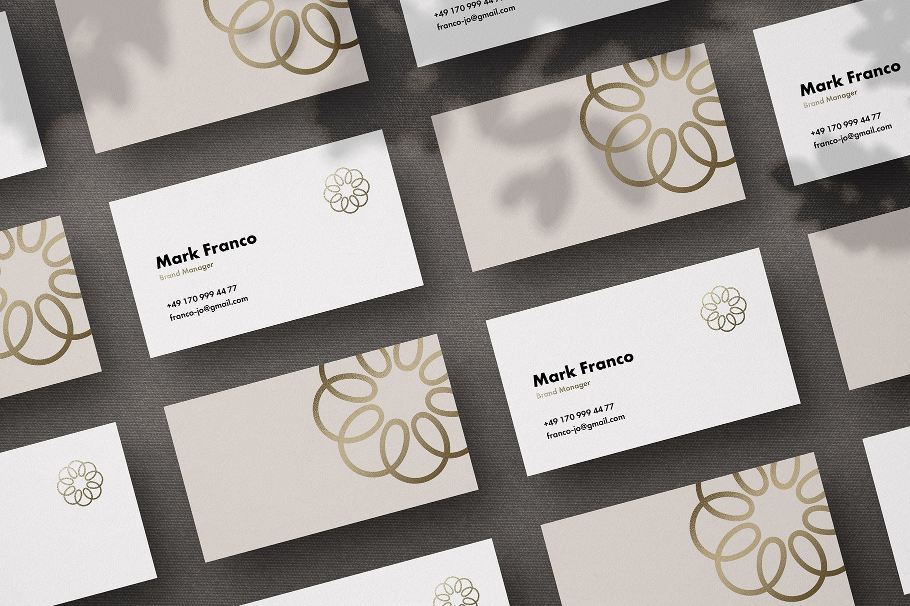 Mote Free Business Card Mockup 4
