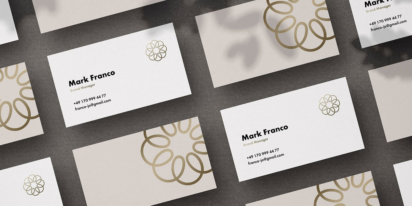 Mote Free Business Card Mockup - The Designest