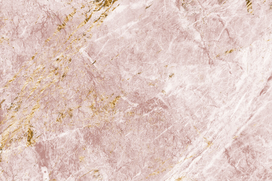 Pink and Gold Marble Texture