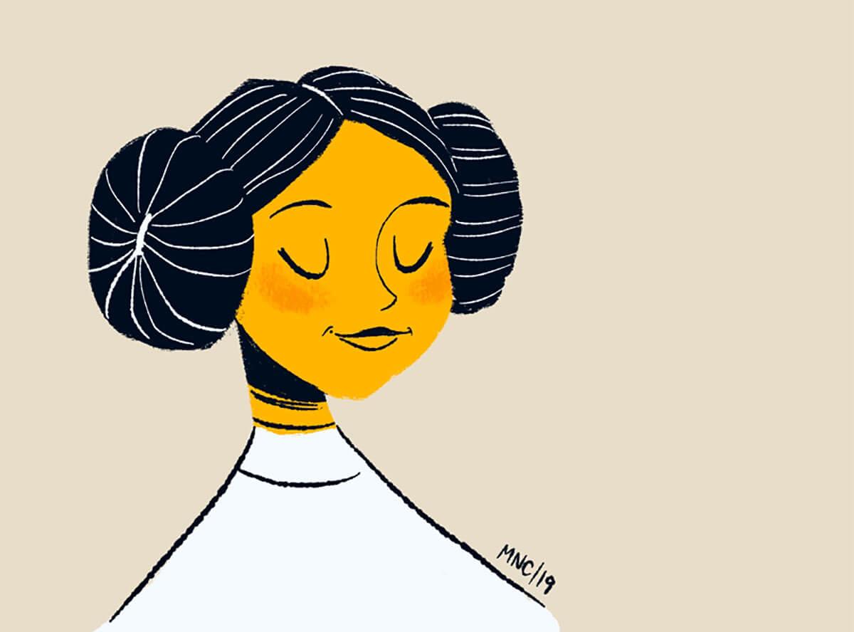 Princess Leia by Monika Norcross-Cerminara