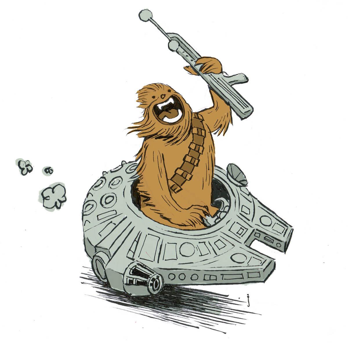Star Wars Fan Art by Jim Bryson