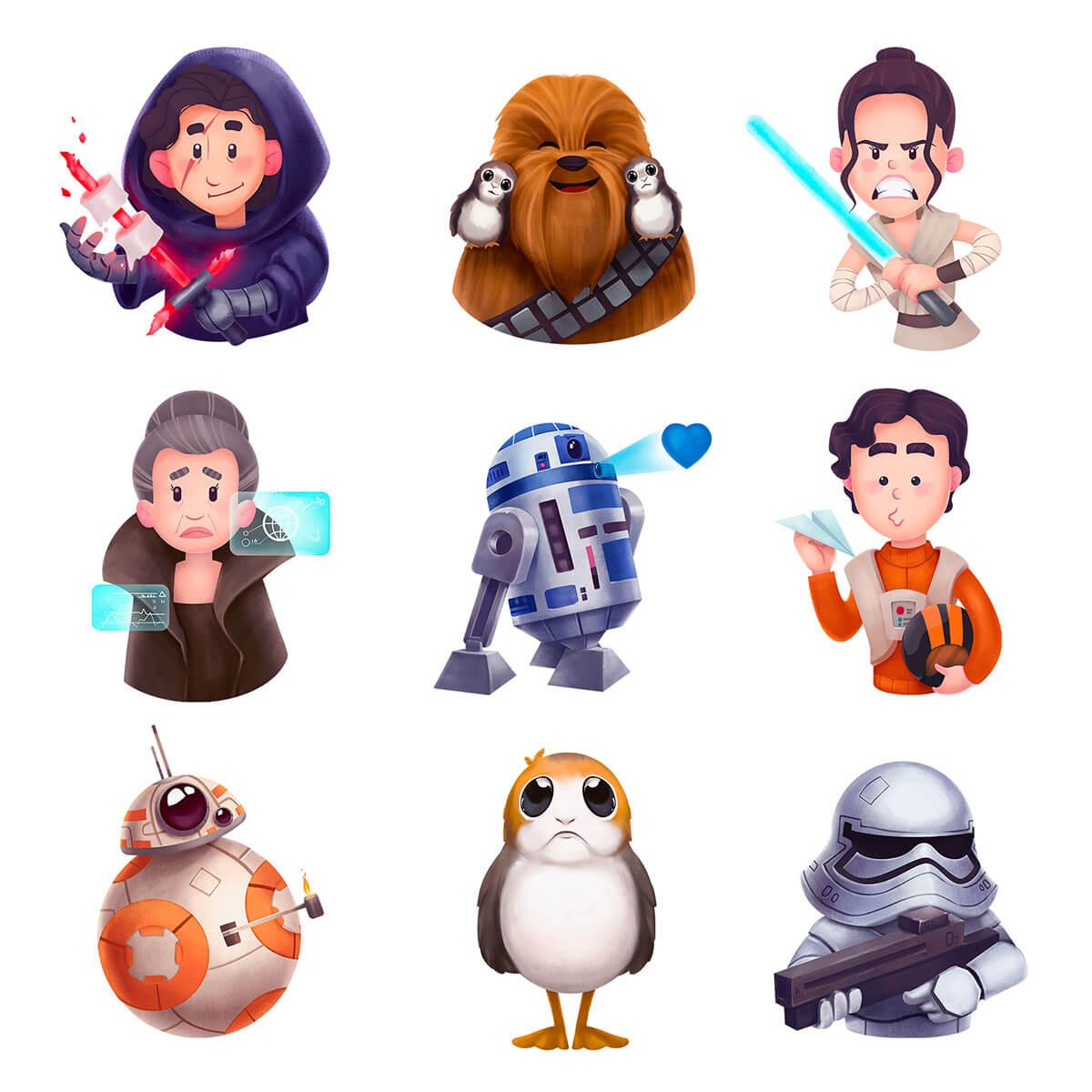 Star Wars Fan-Art by Tubik Studio