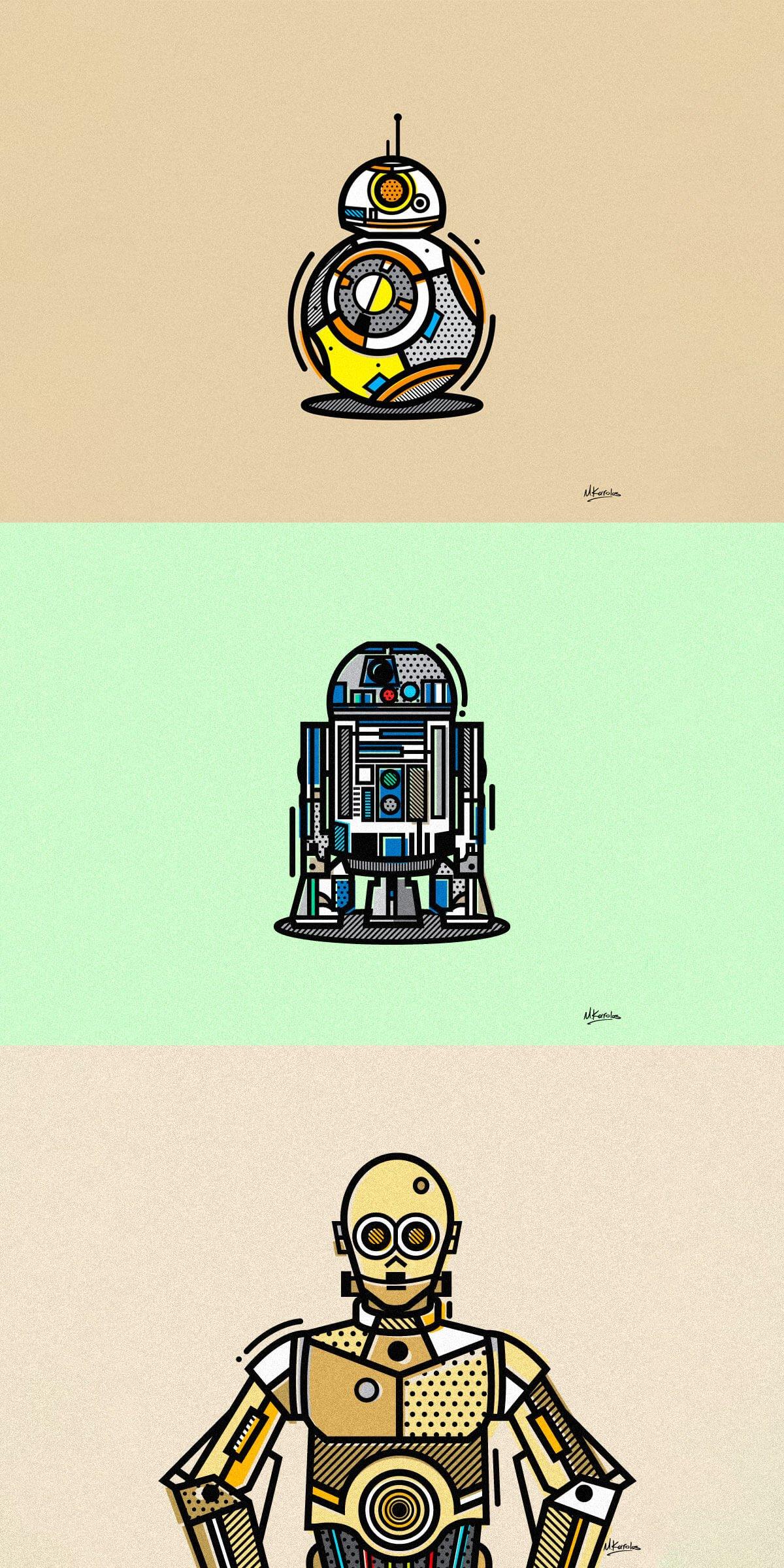 Star Wars Fanart by Mike Karolos