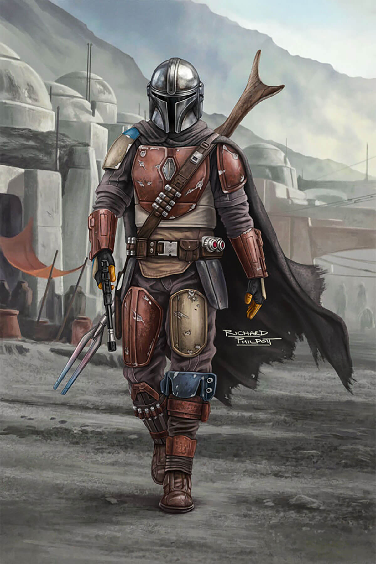 Star Wars The Mandalorian by Richard Philpott