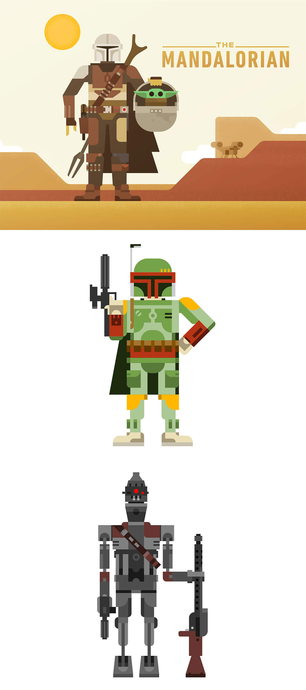 The Mandalorian by Roger Strunk