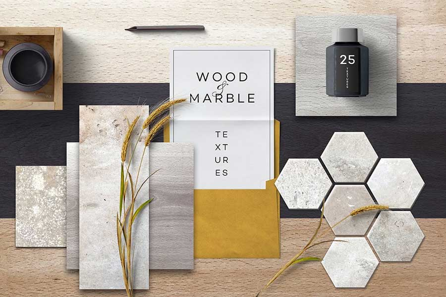 Wood & Marble Textures