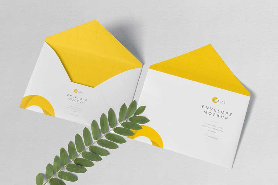 Classic C5 Envelope Template Set