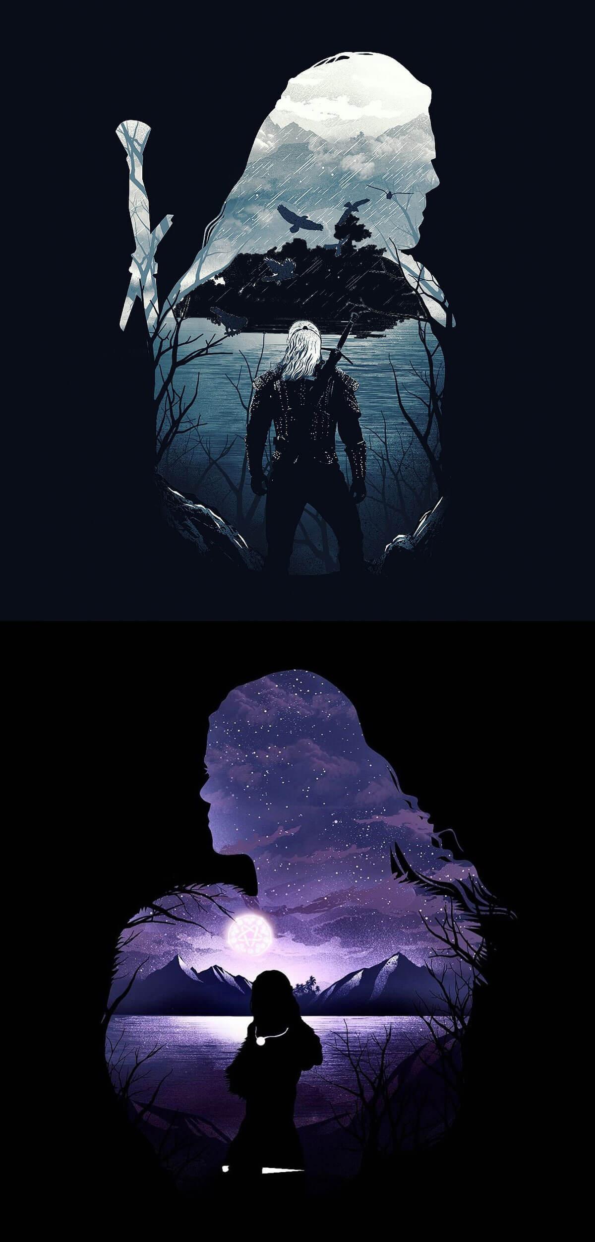 Geralt the witcher by Dan Elijah Fajardo
