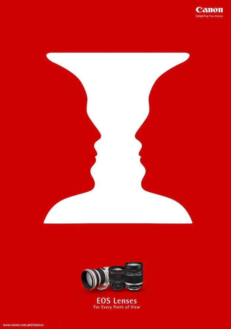 Modern approach to Rubin's vase