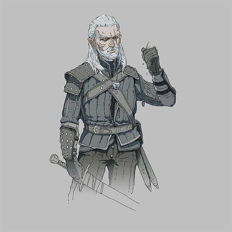 Oldman Geralt