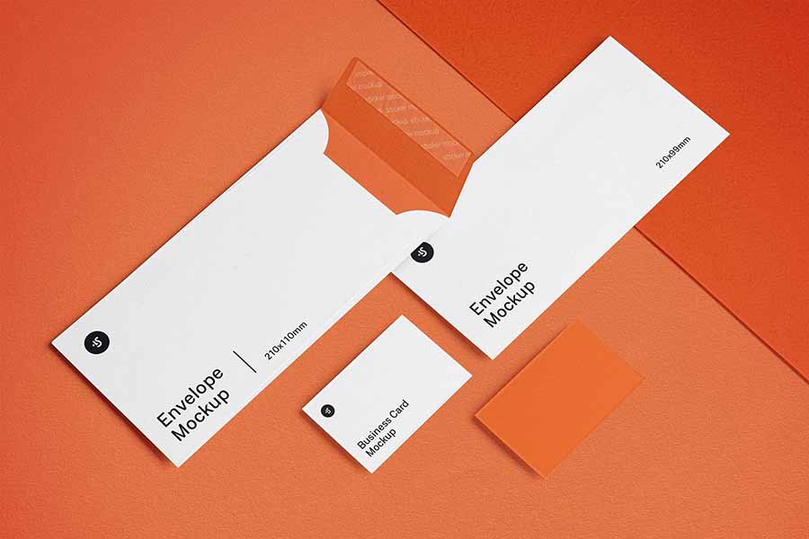 Papers & Envelope Mockup Set