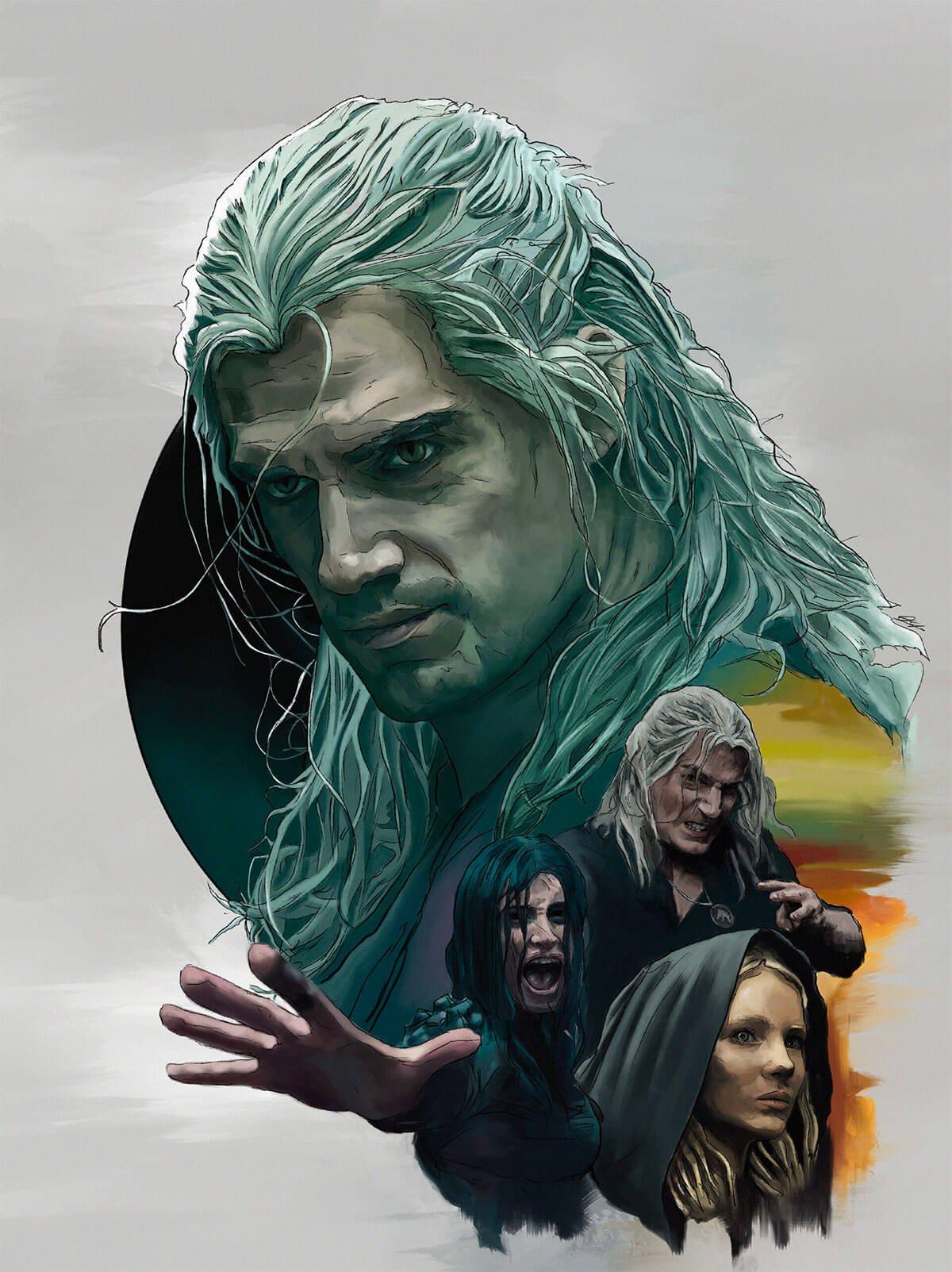 The Witcher Fan Art by Dávid Kuriško