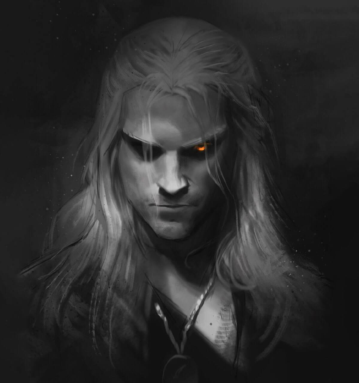 The Witcher Fanart by Anninosart
