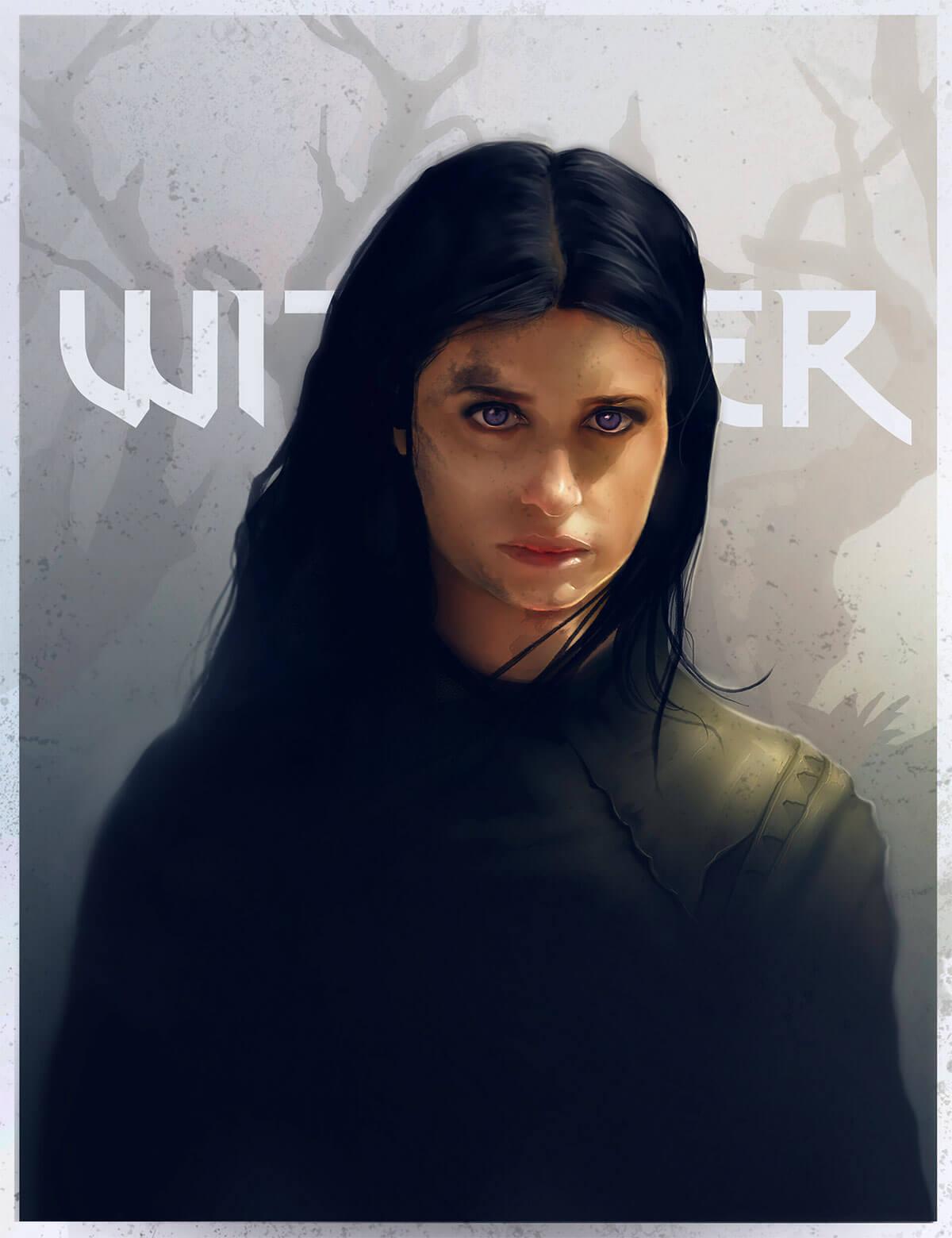 Yennefer Fan Art by Suzana Savanovic