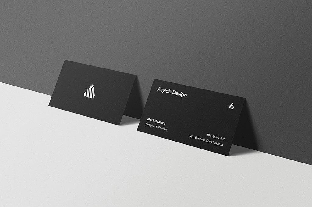 Premium Business Card Mockups