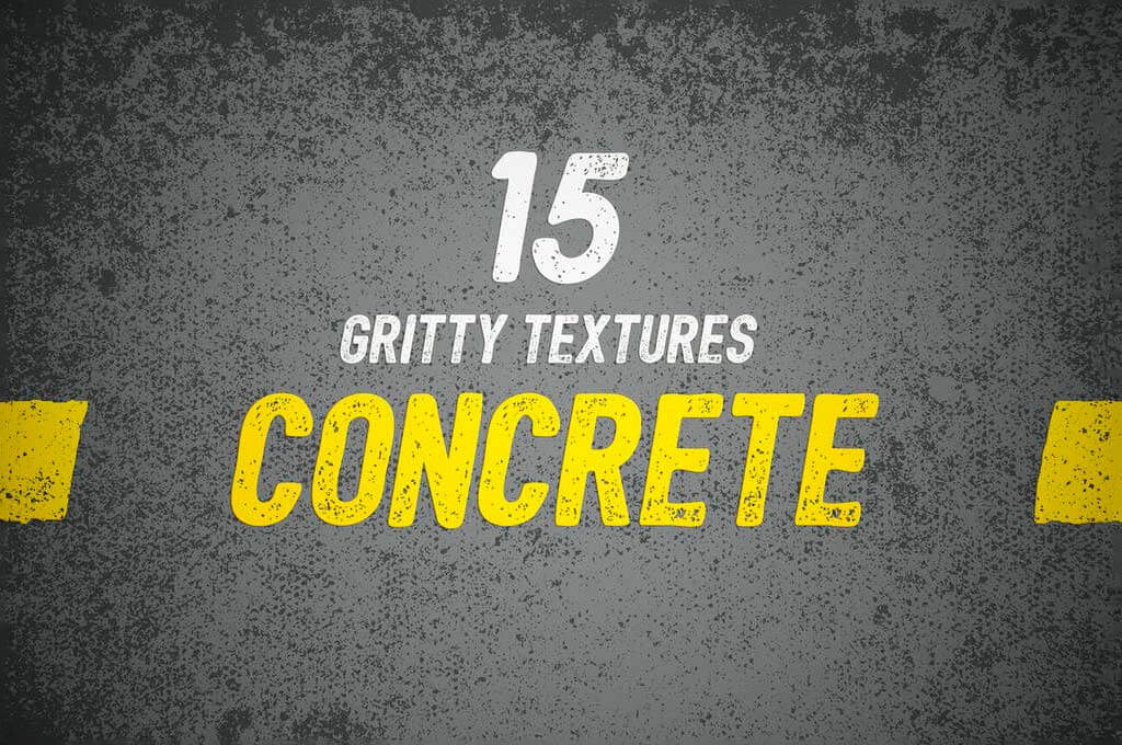 15 Gritty Concrete Textures