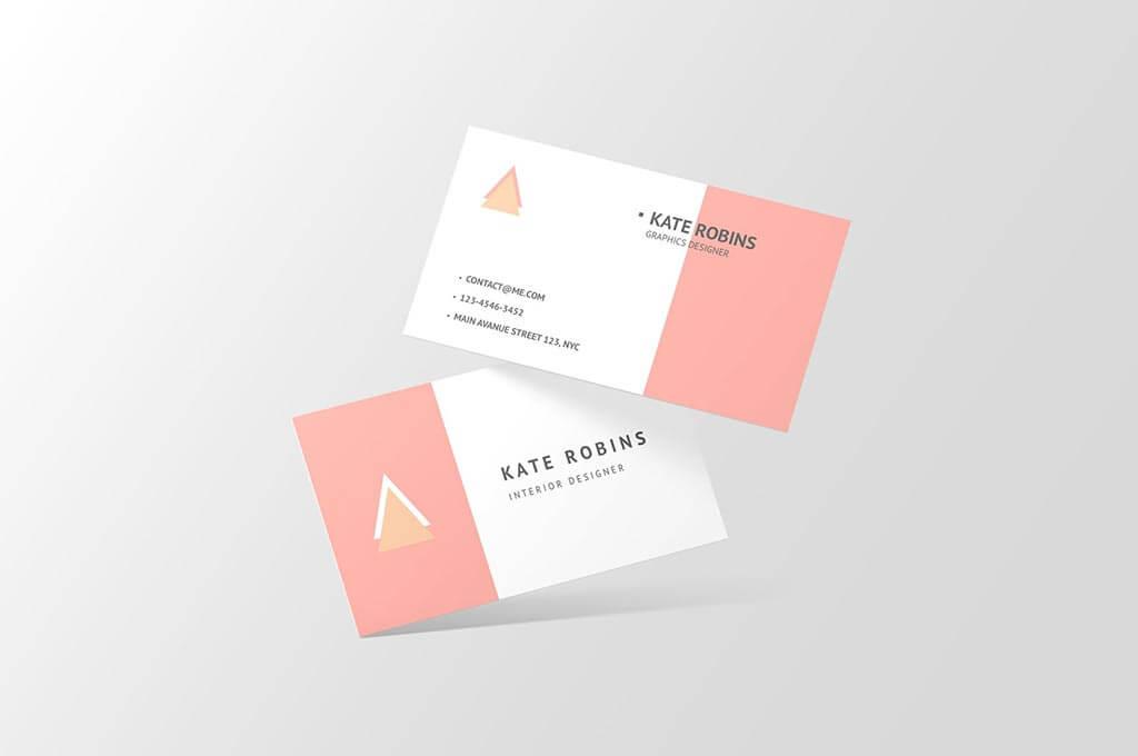 Landscape Business Card Mockup