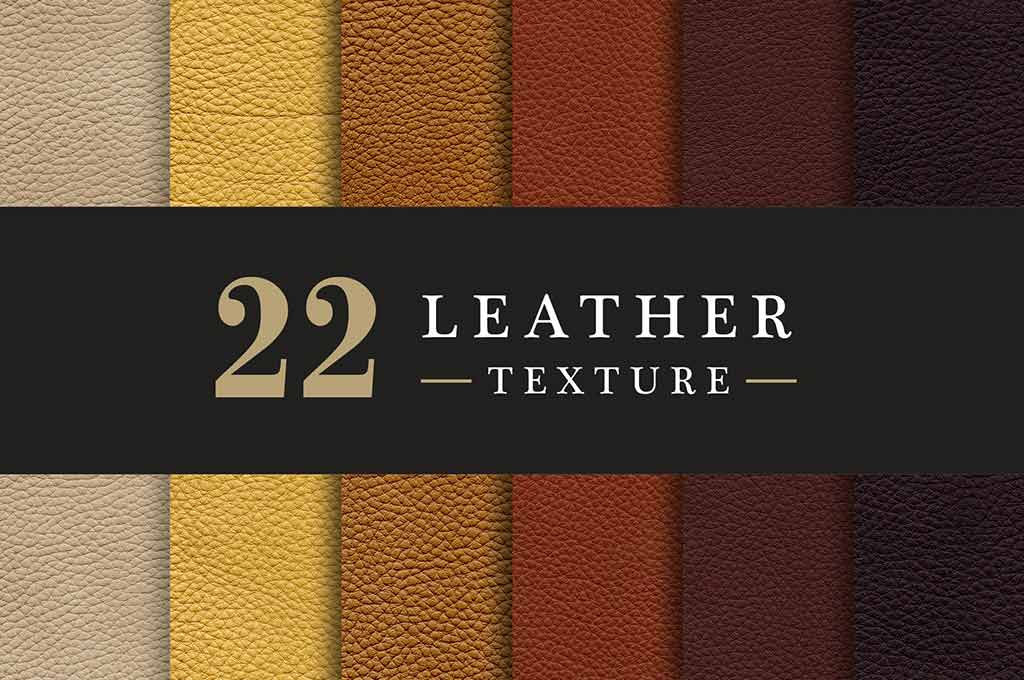 22 Leather Texture pack