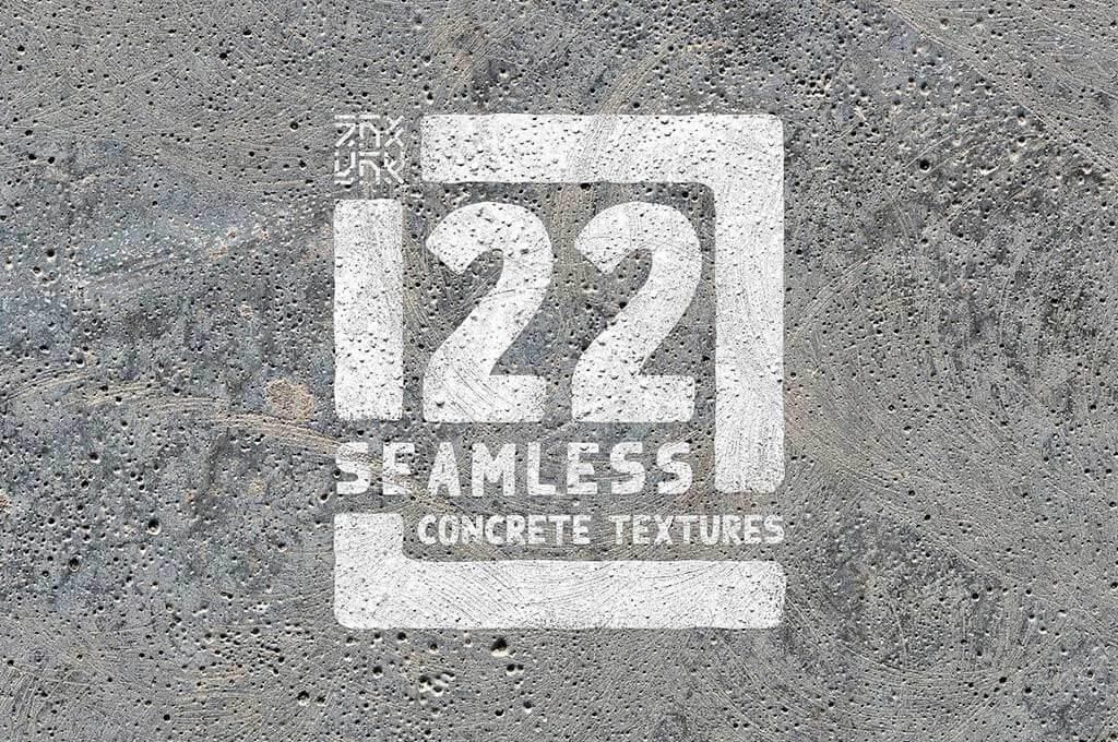 22 Seamless Concrete Textures