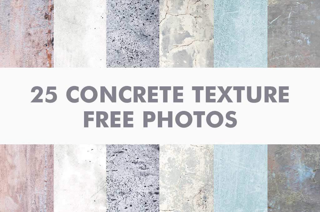 25 Concrete Texture Free Photos